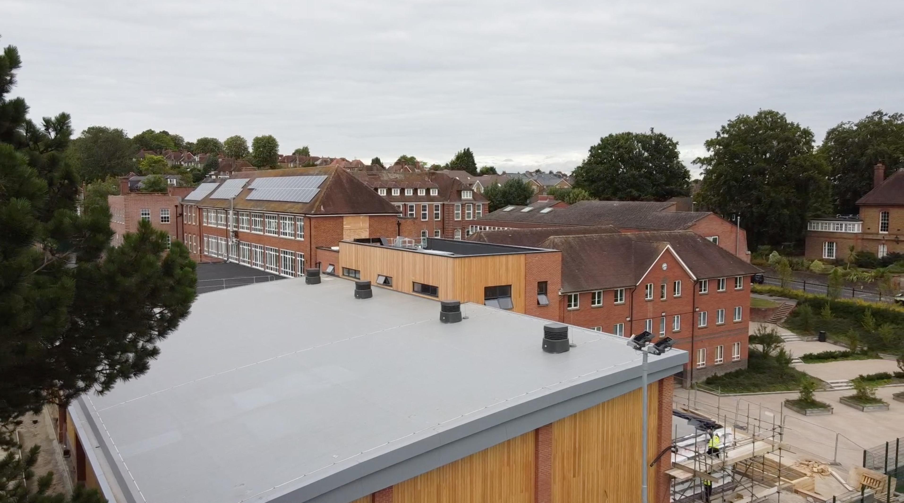 Guildford School Installs Ventive's Natural Ventilation System